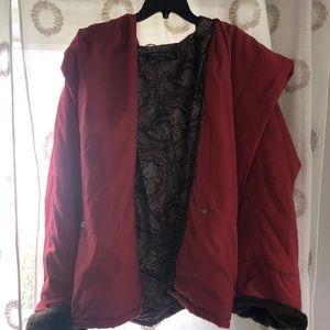 Vintage puffer coat